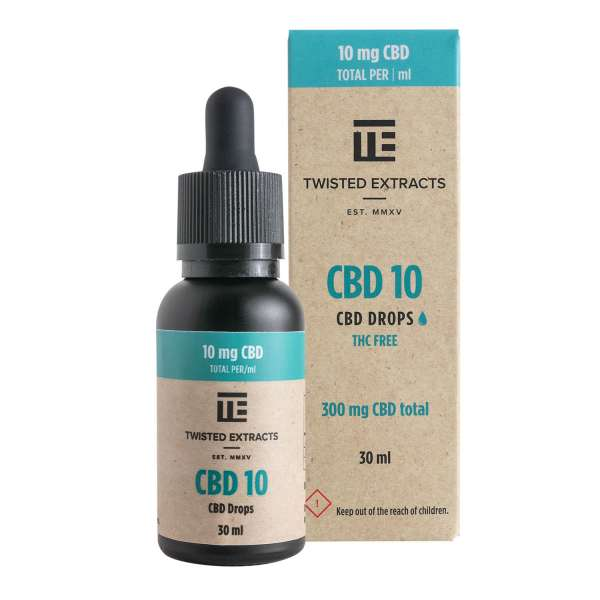 CBD 10 Oil Drops (300mg CBD) Serene Farms Online Dispensary