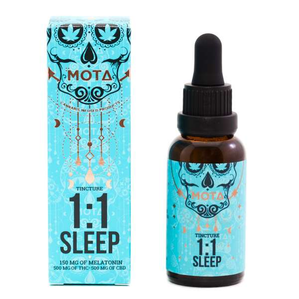 MOTA THC CBD 1-1 SLEEP TINCTURE Serene Farms Online Dispensary