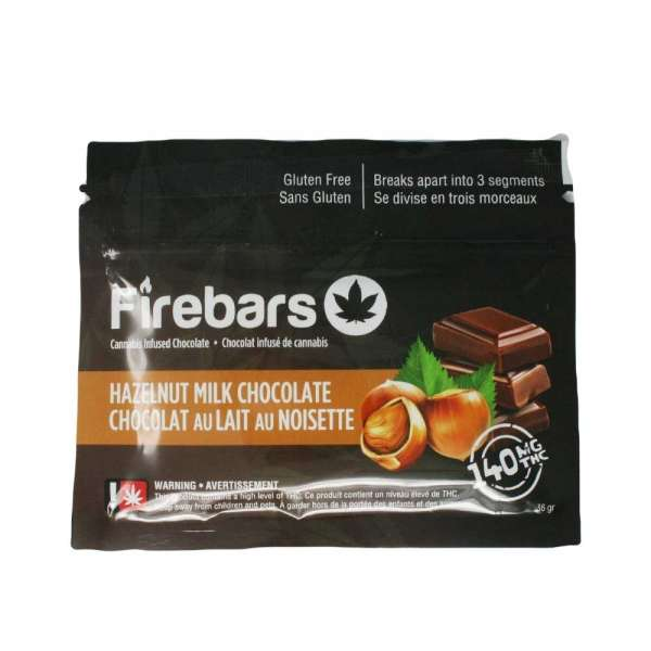 Hazelnut milk chocolate Serene Farms Online Dispensary