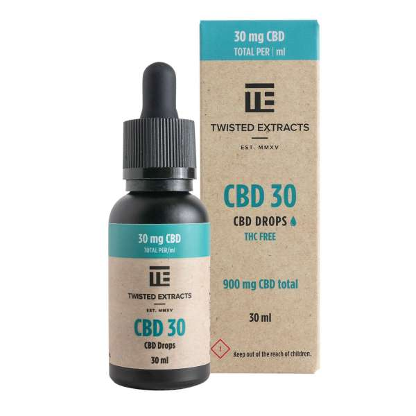 CBD 30 Oil Drops (900mg CBD) Serene Farms Online Dispensary
