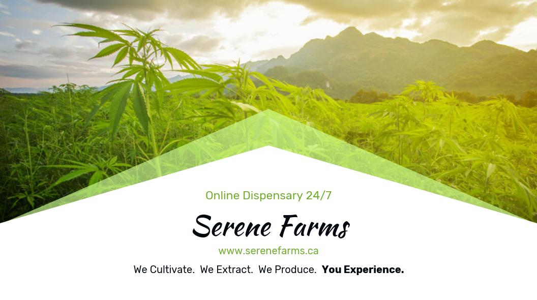 Serene Farms Online Dispensary