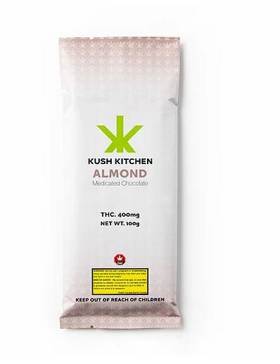 Kush Kitchen Chocolate & Almond 400 MG